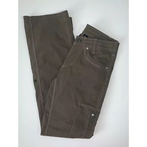 KUHL Pants 2 Women Outdoor Cargo Pockets Roll Tab